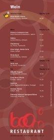 Wein Gasse - Restaurant Boom / Hotel Ibis Zürich-Adliswil - Page 2