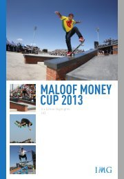 MALOOF MONEY CUP 2013 - IMG Programming - HOME