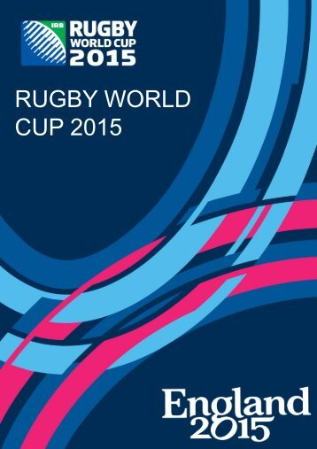 RUGBY WORLD CUP 2015 - IMG Programming - HOME