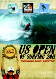 US Open of Surfing 2011 - IMG Programming - HOME