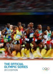THE OFFICIAL OLYMPIC SERIES - IMG Programming - HOME