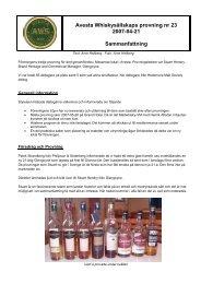 P23 - Avesta Whiskysällskap