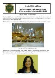 A7 - Avesta Whiskysällskap