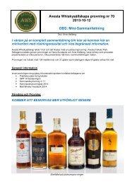 P70 - Avesta Whiskysällskap