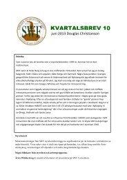 SWF kvartalsbrev 10 - Avesta Whiskysällskap