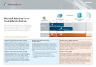 Microsoft Windows Server Produktfamilie für KMU - Tarox