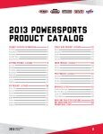 POWERSPORTS PRODUCTS CATALOG - Page 2