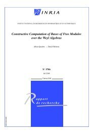 Constructive Computation of Bases of Free Modules over the Weyl ...