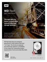 WD Red™ NAS Hard Drives - Product Overview - Western Digital