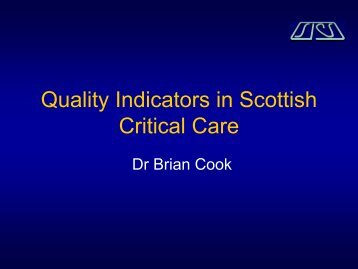 Quality Indicators in Critical Care