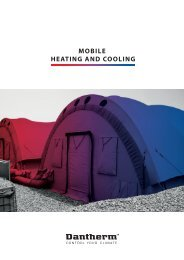 mobile heating and cooling units - Dantherm