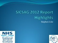SICSAG Annual report highlights - The Scottish Intensive Care ...