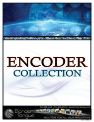 Encoder Collection - Blonder Tongue Laboratories Inc.