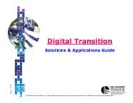Digital Transition - Blonder Tongue Laboratories Inc.