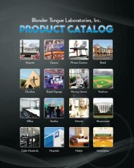2013 Catalog PDF (lo-res) - Blonder Tongue Laboratories Inc.