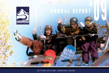 ANNUAL REPORT'09 - Big Sky Youth Empowerment