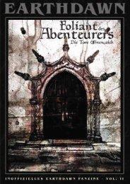 Foliant des Abenteurers, Vol. II - Die Tore öffnen sich