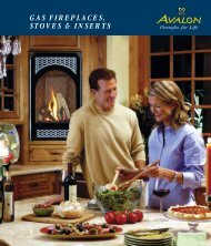 GAS FIREPLACES, STOVES & INSERTS - Lisac's Fireplaces & Stoves