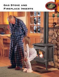 Gas Stove and Fireplace Inserts - Lisacs Fireplaces & Stoves
