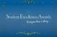 Student Excellence Awards - The Schulich School of Engineering ...