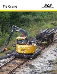 Tie Crane - Rail Construction Equipment