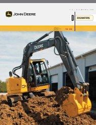 John Deere literature - Rail Construction Equipment