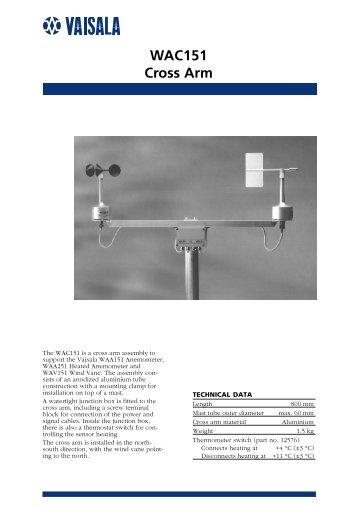 WAC151 Cross Arm - Live Data AB