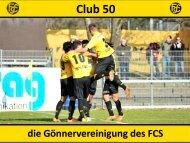 Club 50 Infobroschüre und Anmeldeformular ... - FC Schaffhausen