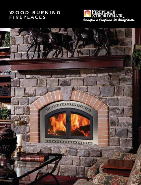 Wood Burning Fireplaces Lisac S Fireplaces Stoves