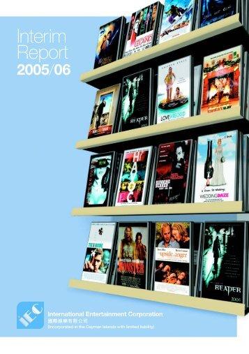 2nd Quarterly Report 2005/2006 - International Entertainment ...