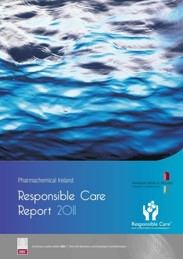 Responsible Care Report 2011 - Pharmachemical Ireland