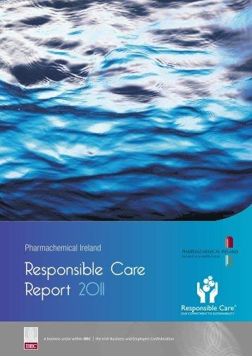 Responsible Care Report 2011 - Pharmachemical Ireland