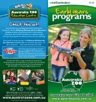Download brochure - Australia Zoo