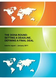 The Doha Round: setting a deadline, defining a final deal - Vox