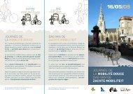 Journée de la mobilité douce dag van de zachte ... - Velo-city 2009