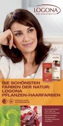 LOGONA PFLANZEN-HAARFARBEN - Bio-naturel.de