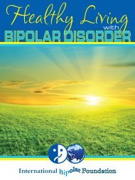 Healthy Living With BiPolar Disorder (courtesy of IBF) - Normal