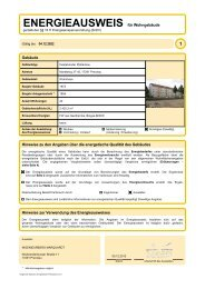 Marktberg 37 - Wohnbau Prenzlau