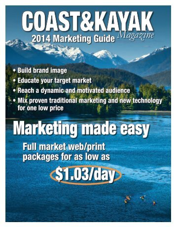 Marketing made easy - Wavelength Paddling Magazine