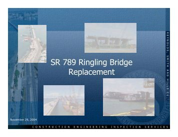 The New Ringling Bridge - FACERS