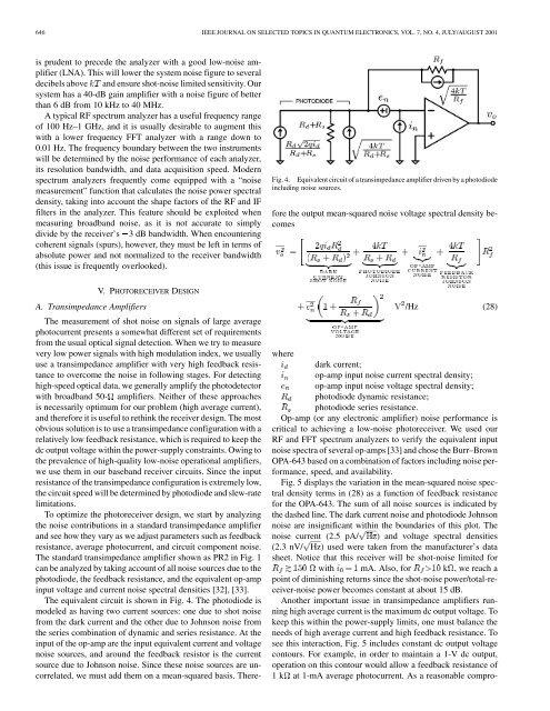 High-Dynamic-Range Laser Amplitude and Phase Noise - Next ...