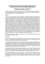 Natura e áreas de produção em sistemas agroflorestais - Embrapa