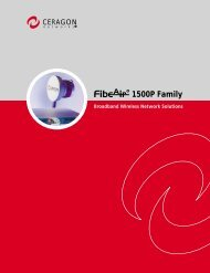 1500P Family - Meridian Microwave