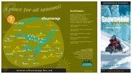 snowmobile brochure inside - Shuswap Tourism