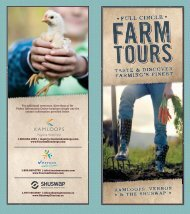 full circle farm tour - Tourism Kamloops