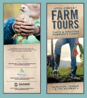 full circle farm tour - Tourism Kamloops