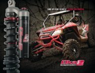 side-by-side vehicle shock absorbers features - Elka Suspension