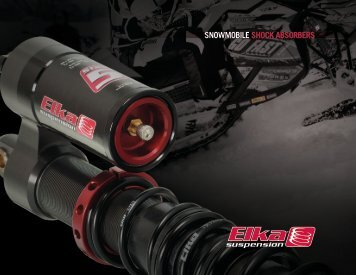 SNOWMOBILE SHOCK ABSORBERS - Elka Suspension