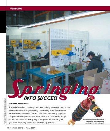 into Success - Elka Suspension