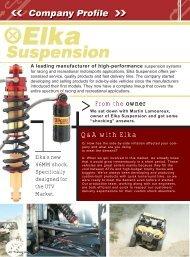 Q&A with Elka - Elka Suspension